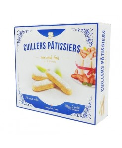Cuillers pâtissiers aux oeufs frais 36 pièces