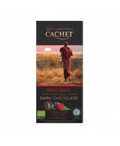 Tablette chocolat noir BIO aux fruits des bois