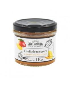 Confit de mangues au piment d'Espelette (110g)