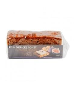 Pain d'épices toast noix et figues 150g