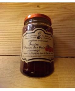 Confiture de fraises des bois sauvages artisanale