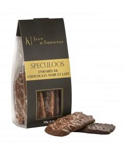 Spéculos enrobés de chocolat noir et lait 190g