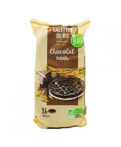 Galette de riz au chocolat lait  BIO 100g