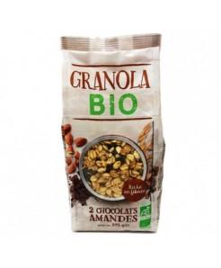 Granola BIO chocolat et amandes 375g